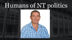 NT election 2020 candidates- Gerard Maley