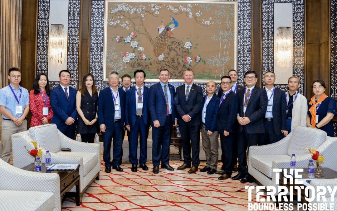 Gunner Government China trip