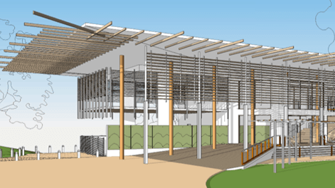 Artist's impression of proposed RSL Club on Darwin's Esplanade