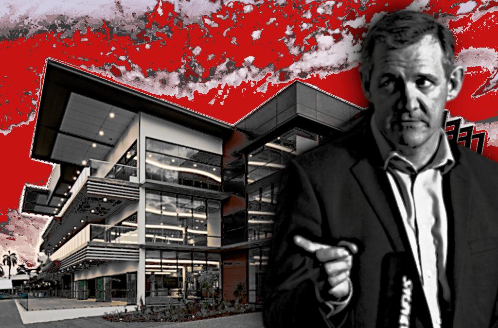 Turf Club recordings: Gunner found 'solution' to get $12 million grandstand money through Cabinet