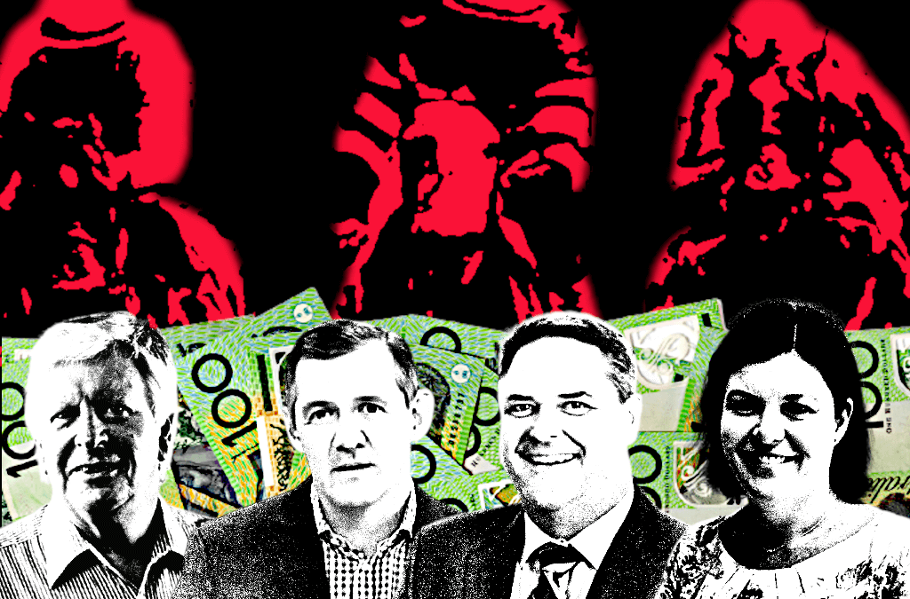 Horse rorts: Dixon and Thoroughbred Racing NT board charged taxpayers $7500 per meeting, plus expenses